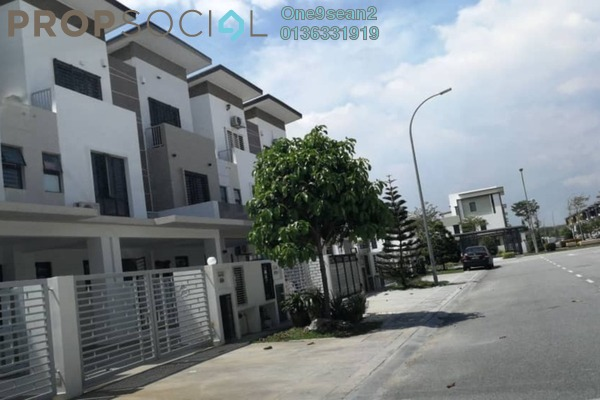 For Rent Terrace at Alam Nusantara, Setia Alam Freehold Semi Furnished 4R/4B 2k