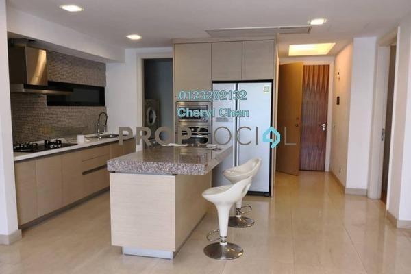 For Rent Condominium at Lumina Kiara, Mont Kiara Freehold Fully Furnished 3R/3B 3.5k