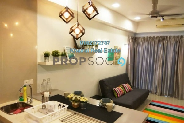 For Sale Condominium at Gaya Bangsar, Bangsar Freehold Semi Furnished 0R/1B 650k