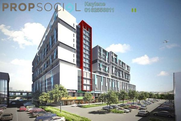 For Sale Condominium at Core SoHo Suites, Sepang Freehold Semi Furnished 1R/1B 258k