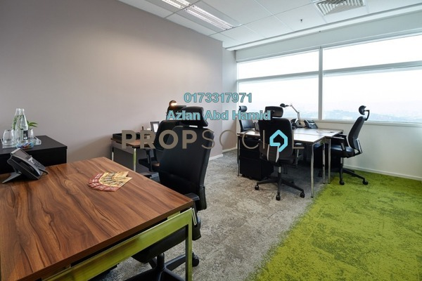For Rent Office at Q Sentral, KL Sentral Freehold Fully Furnished 0R/0B 3.5k