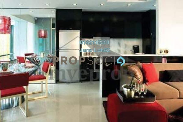 For Rent Condominium at VERVE Suites, Mont Kiara Freehold Fully Furnished 2R/1B 3.3k