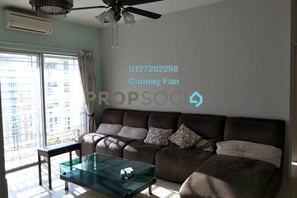 For Rent Condominium at Platinum Lake PV12, Setapak Freehold Fully Furnished 3R/2B 1.8k