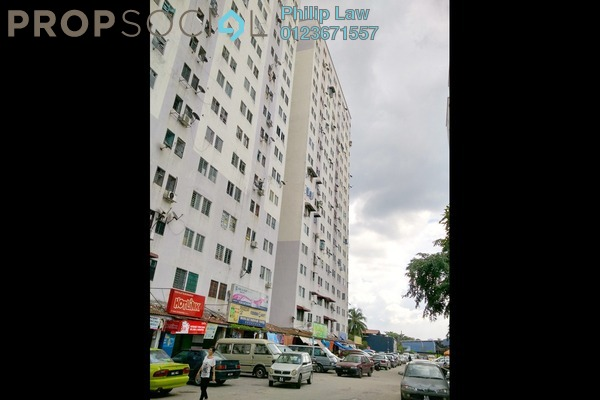 For Rent Apartment at Permata Fadason, Jinjang Freehold Unfurnished 3R/2B 750translationmissing:en.pricing.unit