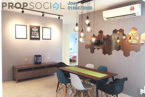 For Rent Condominium at Putra One, Bukit Rahman Putra Freehold Fully Furnished 3R/2B 2.8k