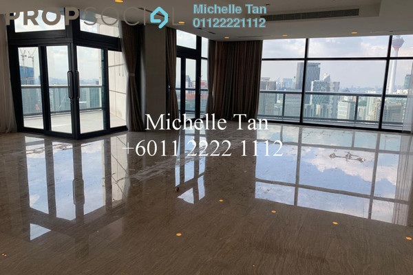 For Sale Condominium at The Troika, KLCC Freehold Semi Furnished 4R/5B 8.5m