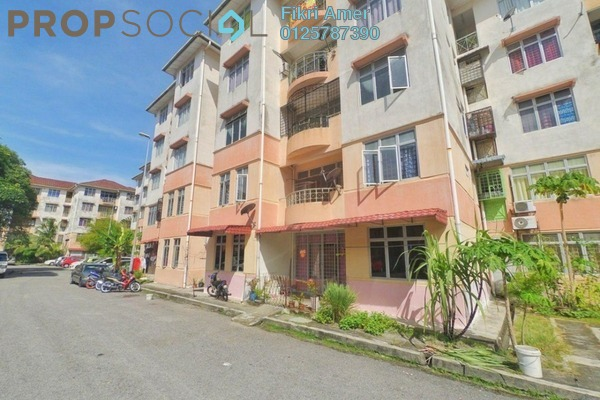 For Sale Apartment at Taman Putra Perdana, Puchong Leasehold Unfurnished 3R/2B 190k