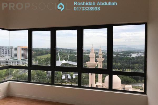 For Rent Serviced Residence at Suria Residence, Bukit Jelutong Freehold Semi Furnished 3R/2B 2.5k