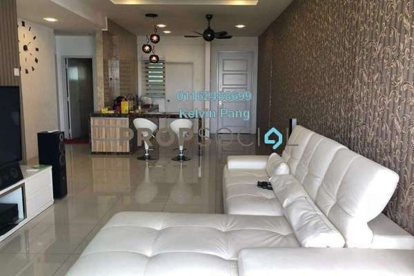 For Sale Condominium at The Peak Residences, Tanjung Tokong Freehold Fully Furnished 3R/2B 618k