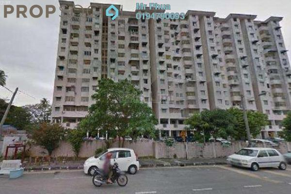 For Sale Apartment at Widuri Apartment, Butterworth Freehold Unfurnished 2R/2B 160k