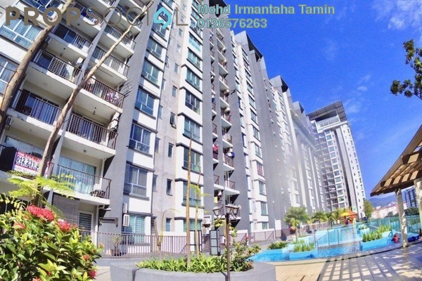 For Sale Condominium at Amara, Batu Caves Freehold Semi Furnished 3R/2B 370k