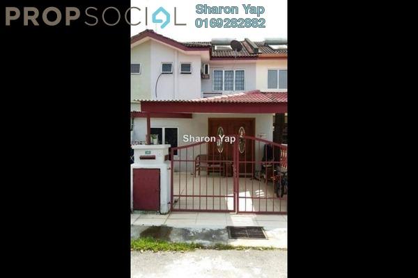 For Sale Terrace at PU10, Bandar Puchong Utama Freehold Semi Furnished 4R/3B 459k