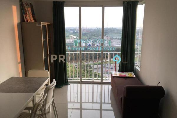 For Rent Serviced Residence at Menara U2, Shah Alam Freehold Fully Furnished 2R/1B 1.5k