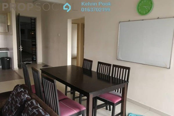 For Sale Condominium at Serin Residency, Cyberjaya Freehold Fully Furnished 3R/2B 470k
