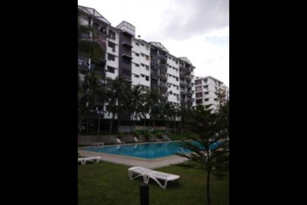 For Rent Condominium at Brem Park, Kuchai Lama Freehold Semi Furnished 3R/2B 1.35k