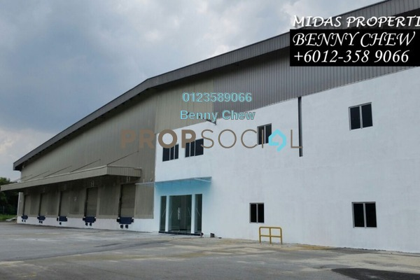 For Rent Factory at Bukit Jelutong Industrial Park, Bukit Jelutong Freehold Unfurnished 0R/0B 236k