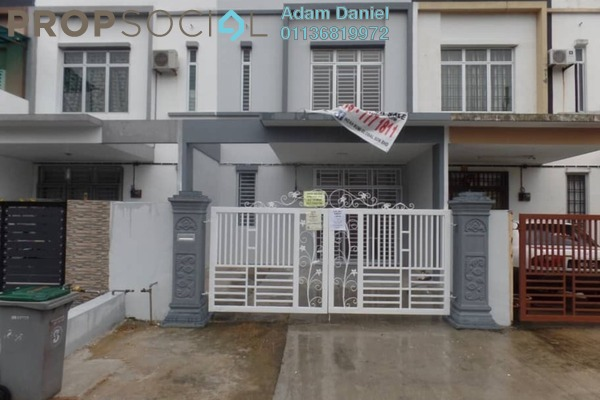 For Sale Terrace at Taman Pulai Indah, Pulai Freehold Unfurnished 4R/3B 365k