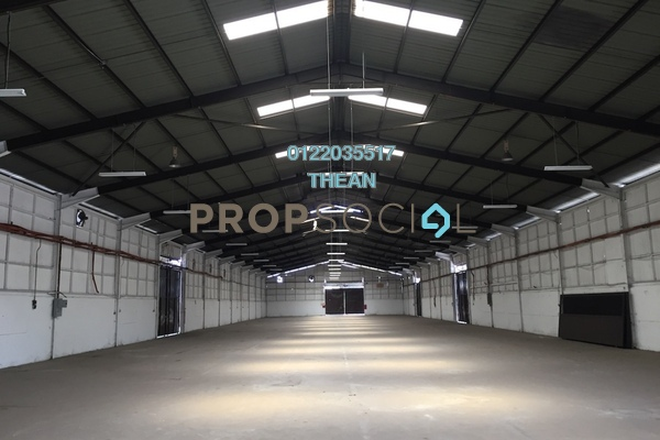 For Rent Factory at Bukit Kemuning Industrial Park, Kota Kemuning Freehold Unfurnished 0R/0B 35k