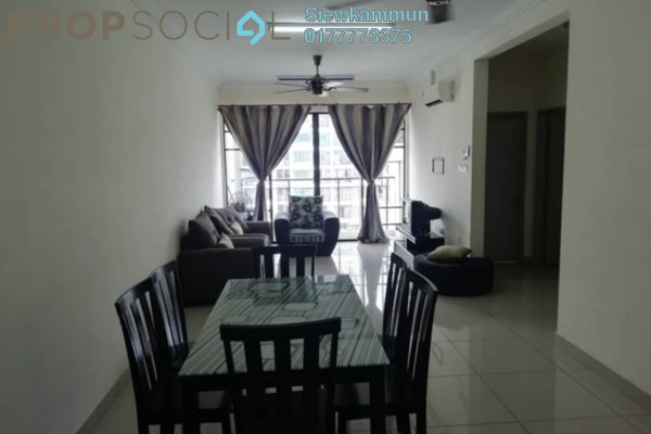 For Rent Condominium at One Damansara, Damansara Damai Freehold Fully Furnished 3R/2B 1.3k