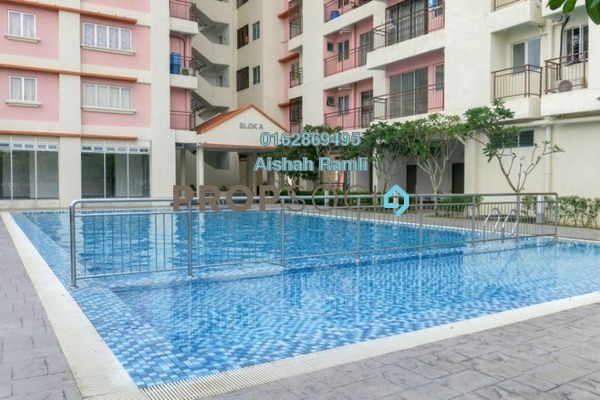 For Sale Condominium at PJS 5, Bandar Sunway Freehold Semi Furnished 3R/2B 375k