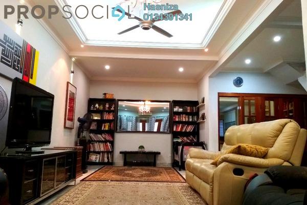 For Sale Terrace at Taman Cempaka, Pandan Indah Freehold Semi Furnished 3R/3B 810k