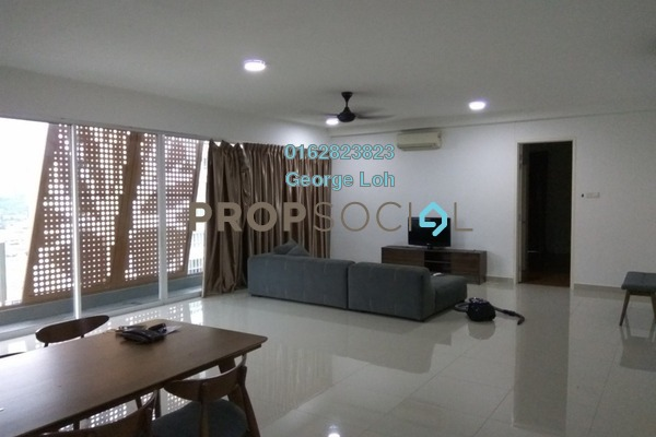 For Rent Condominium at Arte KL, Kuchai Lama Freehold Fully Furnished 3R/4B 2.9k