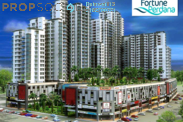 For Sale Condominium at Fortune Perdana Lakeside, Kepong Leasehold Unfurnished 4R/2B 680k