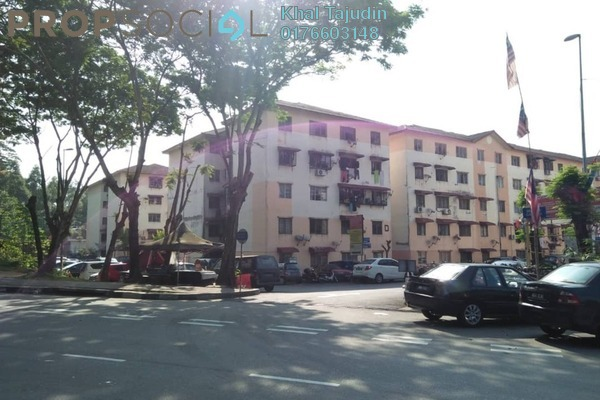 For Sale Apartment at Idaman Apartment, Damansara Damai Freehold Unfurnished 3R/2B 135k