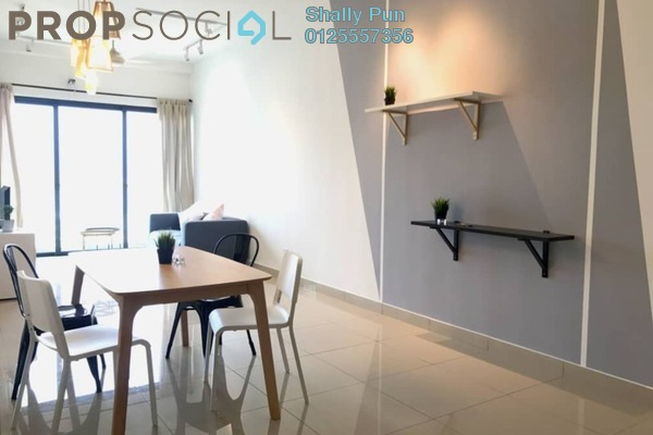 For Sale Condominium at Skyvilla @ D'Island, Puchong Freehold Semi Furnished 3R/2B 610k