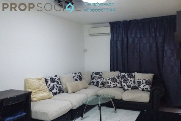 For Rent Condominium at Kenanga Point, Pudu Freehold Fully Furnished 3R/2B 1.9k
