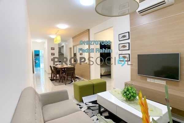 For Sale Apartment at Aspire Residence, Cyberjaya Freehold Unfurnished 3R/2B 330k
