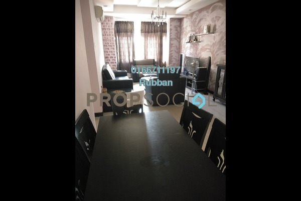 For Sale Apartment at Desa Idaman Residences, Puchong Freehold Semi Furnished 3R/2B 300k