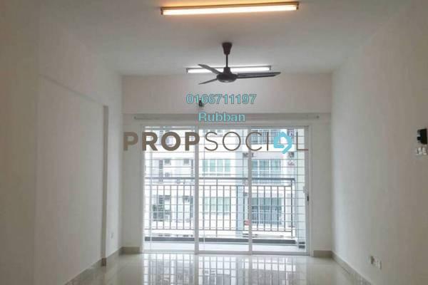 For Rent Condominium at Casa Tropika, Puchong Freehold Semi Furnished 3R/2B 1.3k