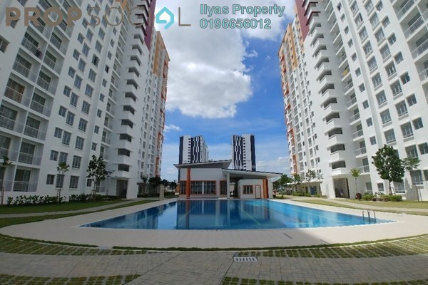 For Rent Condominium at Setia EcoHill, Semenyih Freehold Unfurnished 3R/2B 750translationmissing:en.pricing.unit