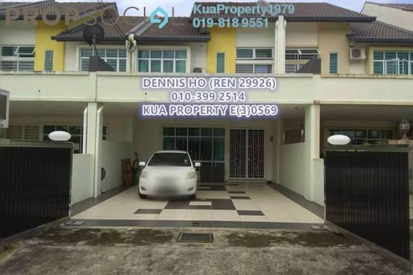 For Rent Terrace at Riveria Bay Apartments, Kota Samarahan Freehold Semi Furnished 4R/3B 1.5k
