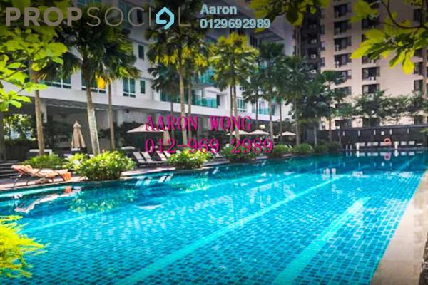 For Rent Condominium at Verticas Residensi, Bukit Ceylon Freehold Semi Furnished 3R/3B 6k
