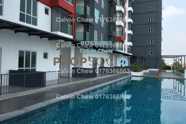For Sale Serviced Residence at Silk Residence, Bandar Tun Hussein Onn Freehold Unfurnished 0R/0B 376k