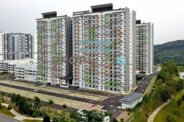 For Sale Condominium at D'Cerrum @ Setia EcoHill, Semenyih Freehold Semi Furnished 3R/2B 278k