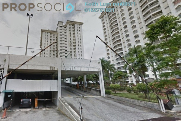 For Sale Condominium at Endah Villa, Sri Petaling Freehold Semi Furnished 3R/2B 398k