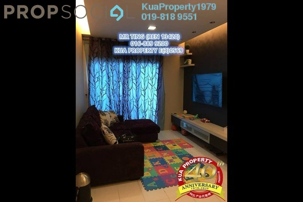 For Sale Apartment at Courtyard Sanctuary Apartment, Kuching Freehold Unfurnished 3R/2B 300k