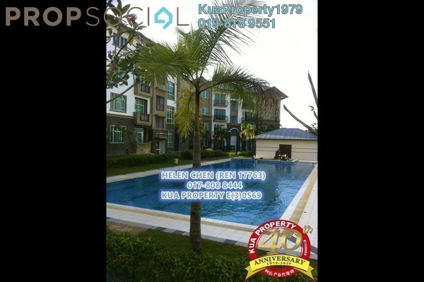 For Sale Apartment at Green Heights, Kuching Freehold Fully Furnished 3R/2B 388k