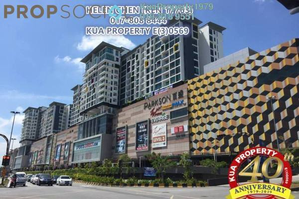 For Rent Condominium at Jazz Suite @ ViVaCiTy, Kuching Freehold Fully Furnished 2R/1B 2.3k