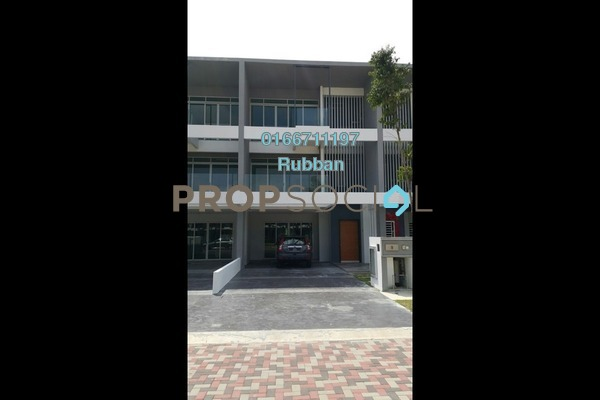 For Sale Superlink at D'Island, Puchong Freehold Semi Furnished 6R/6B 1.8m