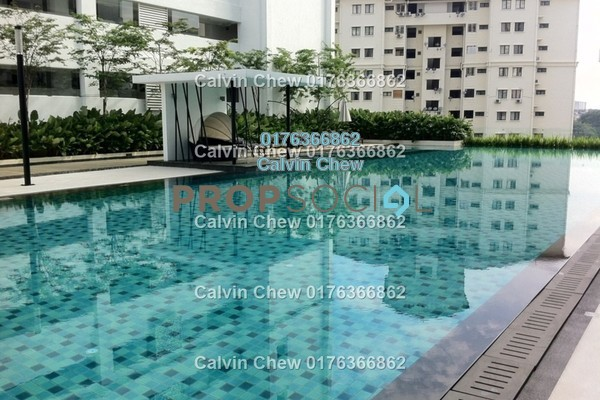 For Sale Condominium at Papillon Desahill, Taman Desa Freehold Unfurnished 3R/4B 948k
