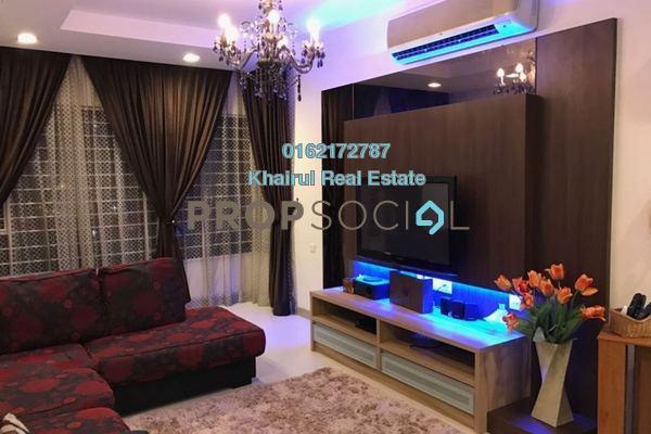 For Sale Condominium at Savanna 1, Bukit Jalil Freehold Fully Furnished 3R/2B 770k