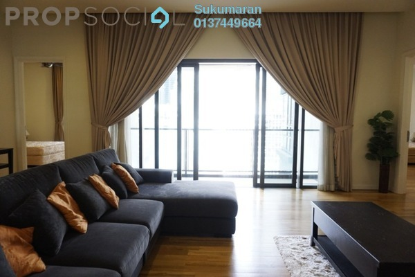 For Rent Condominium at St Mary Residences, KLCC Freehold Fully Furnished 2R/3B 6.9k