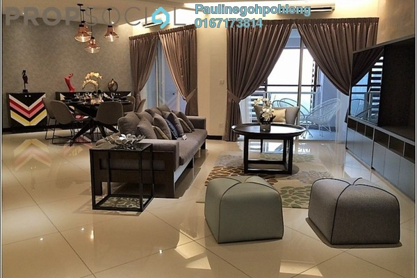 For Rent Condominium at 9 Bukit Utama, Bandar Utama Freehold Fully Furnished 5R/4B 3.5k