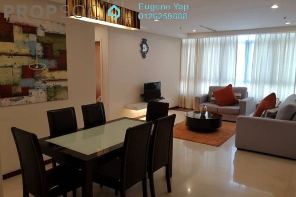For Rent Serviced Residence at i-Zen Kiara II, Mont Kiara Freehold Fully Furnished 3R/3B 3.25k