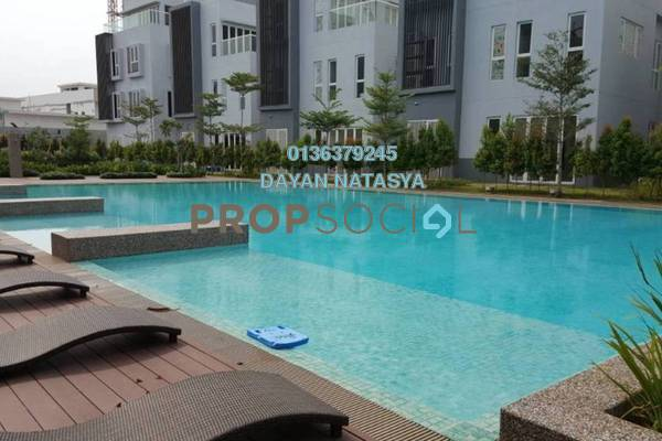 For Sale Bungalow at LakeFront Villa, Cyberjaya Freehold Semi Furnished 5R/5B 1.96m