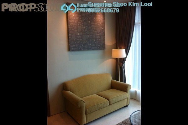 For Rent Serviced Residence at Soho Suites, KLCC Freehold Fully Furnished 1R/1B 2.8k